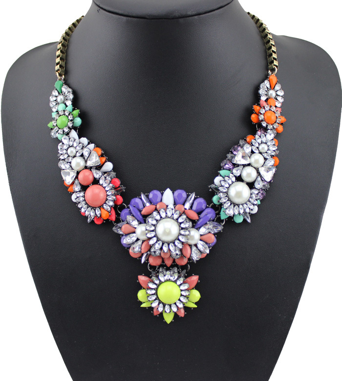 skytmeg.cf offers 5, big colorful necklaces products. About 48% of these are necklaces, 32% are zinc alloy jewelry, and 7% are copper alloy jewelry. A wide variety of big colorful necklaces options are available to you, such as anniversary, engagement, and gift.