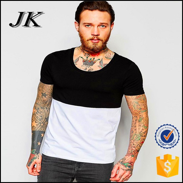 100% cotton high quality t shirt two color t shirt
