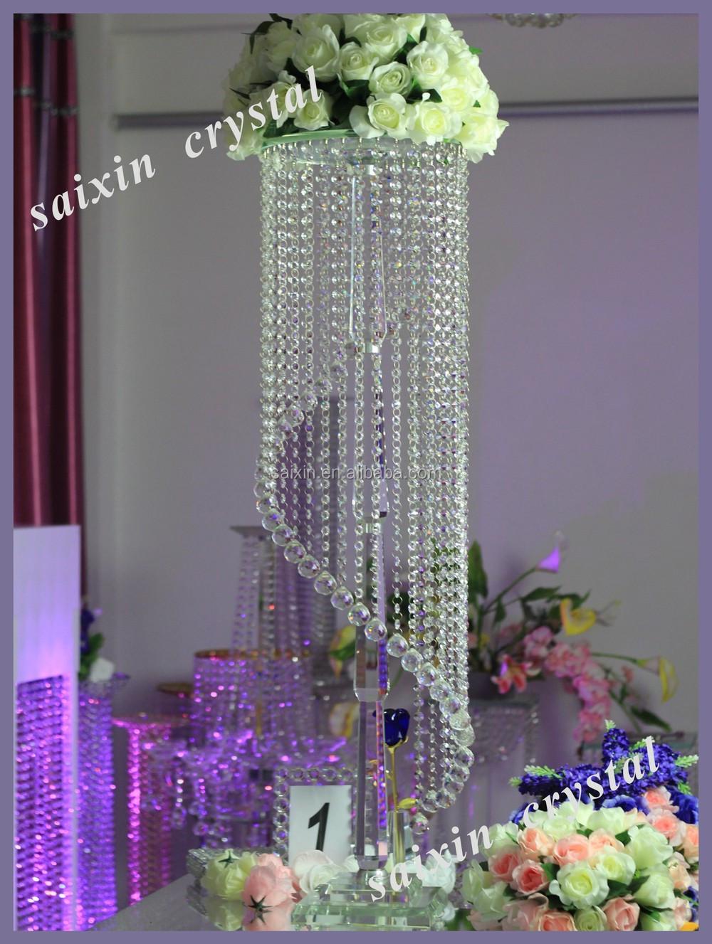 Gorgeous hanging crystal wedding decoration centerpieces view gorgeous hanging crystal wedding decoration centerpieces arubaitofo Image collections