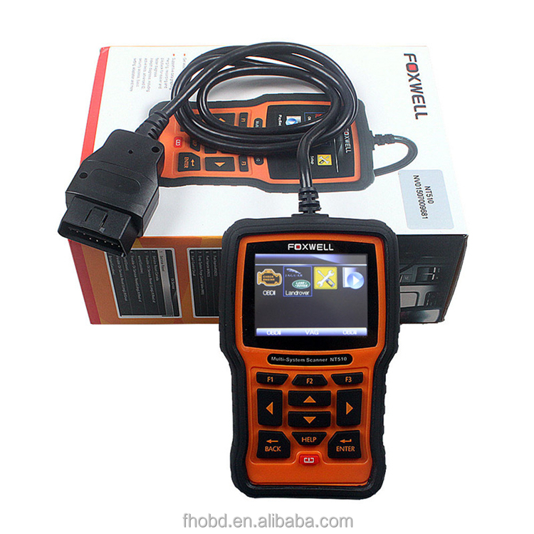 2015 Multi-system Scanner Foxwell Nt510 Universal Car Diagnostic ...