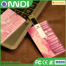 OEM Credit business Card USB flash drive 16gb 32gb for laptop