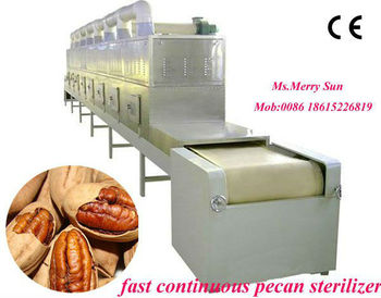 New low temperature heating tunnel type nut food drying machine/vacuum machine/roasterr/baking machine