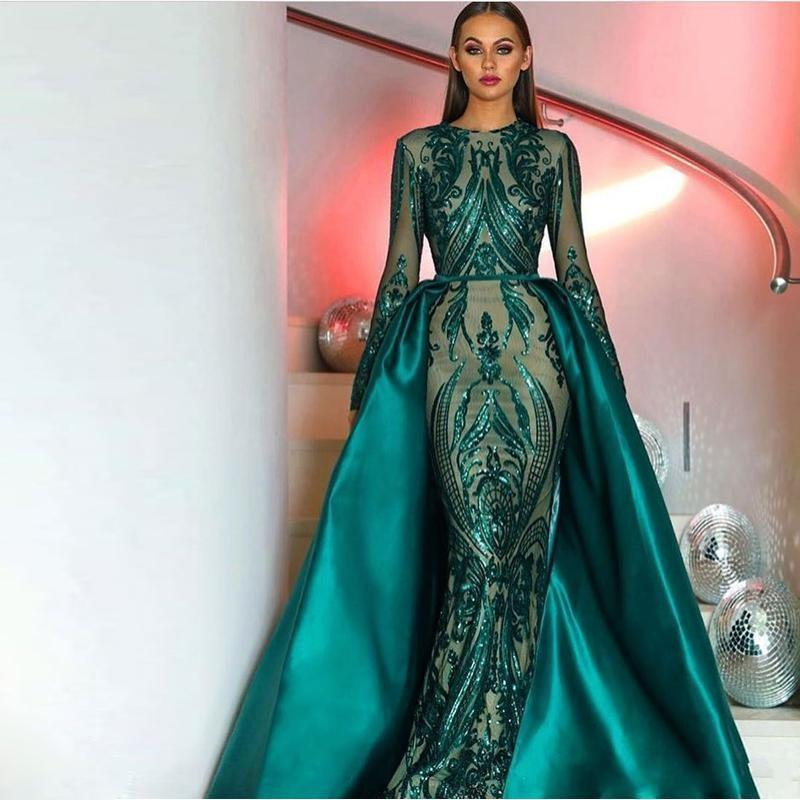 709247b2db01 Großhandel meerjungfrau kleider dunkel grün Kaufen Sie die besten ...