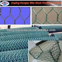 chicken wire netting insulation/PVC coated galvanized wire/hexagonal mesh fabric