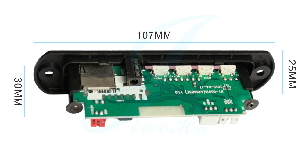 India Bluetooth Decoder Board Motorcycle Mp3 With Tf Usb ...