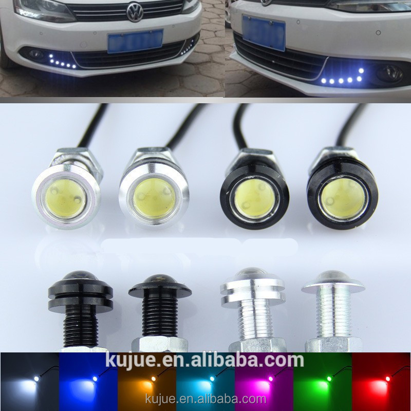 12v Car Parking Lights Eagle Eye Led Light Waterproof Small Led ...