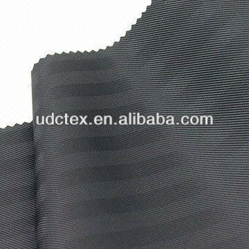 Polyester Rayon  two tone Dobby Stripe Lining