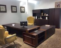 luxury wooden office furniture modern manager office desk