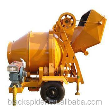 Professional plastic drum concrete mixer