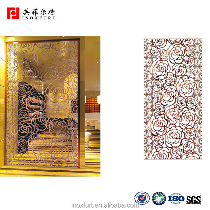 Top Interior Design Laser Cutting Metal Partition Room Divider ...