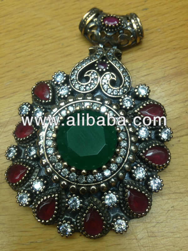 Turkish Ottoman Jewelry 1000 grams 925 Silver = $995 Antique Rings Pendants Necklaces Grand Bazaar Best Deals Istanbul Turkey