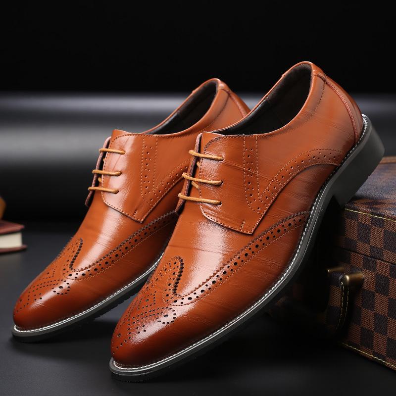 Man Pu Leather Shoe Business Footwear