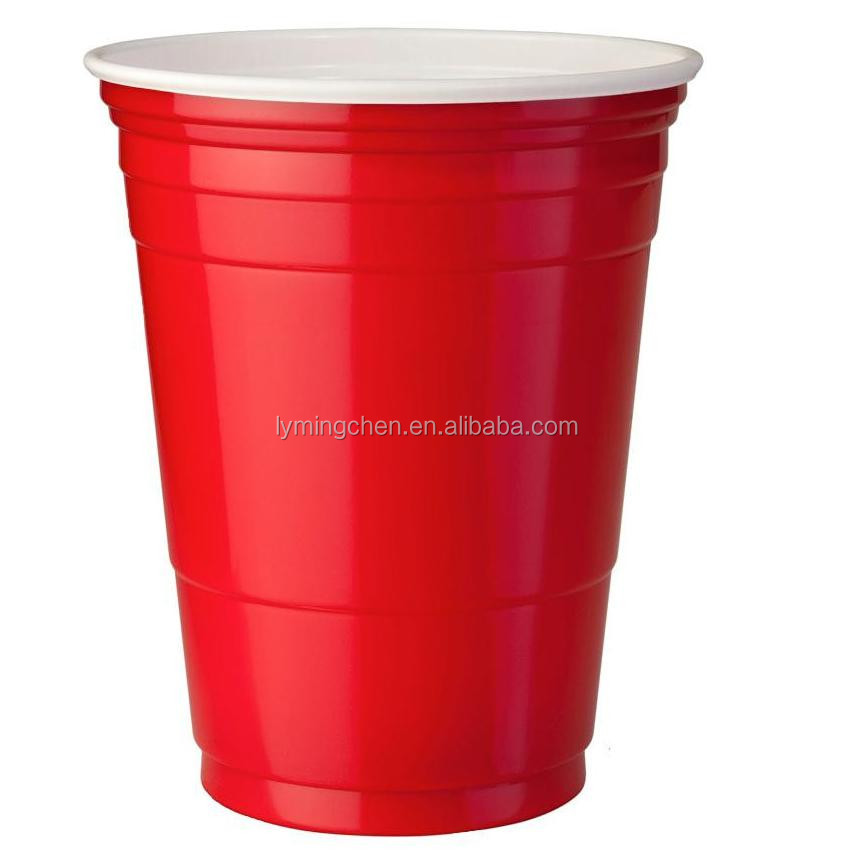 2015 HOT Sale chinese popular red plastic party cups with your Logo