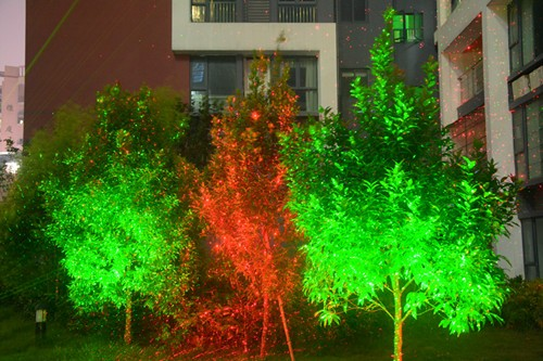 Optlaser outdoor garden laser lighting party christmas decoration light