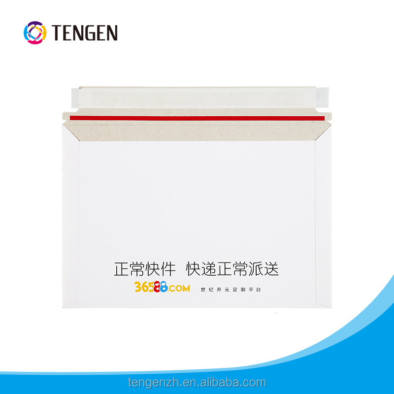 Stereoscopic box Cardboard envelope accept customized logo