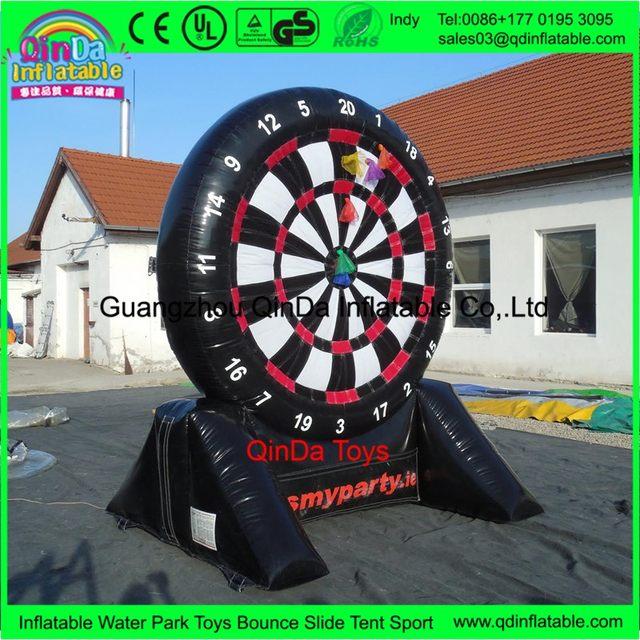 Online Shop 2017 Giant Target Shoot Inflatable Adult Darts Board