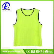 Colorful 100% polyester mesh soccer training bibs sport scrimmage training vest
