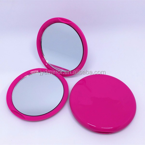 Travel Purses Home Use Compact Makeup Mirror Pocket Portable Make-up Double Sided Folding Handheld Mirrors
