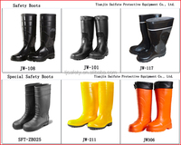 Yellow Safety Pvc Rain Water Boots/mens Rubber Rain Boots - Buy ...