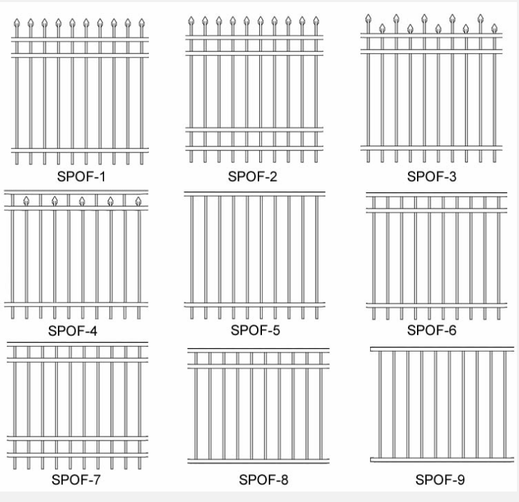 australia fence panels/ fence/ steel wire mesh/ cheap wrought iron fence panels for sale