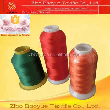 Famous Brand In China Lubricated 120d2 Polyester Embroidery Thread
