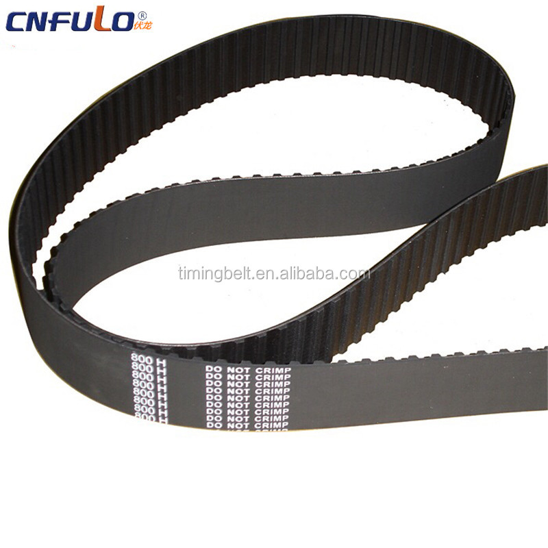 Rubber industrial belts timing belt for chery