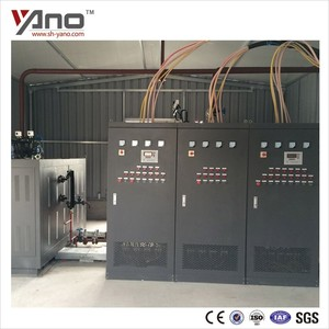 Customer case at Ethopia Site 720KW 1T/H Capacity Electric Steam Boiler for Socks Factory