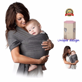 Softtextile Baby Wrap Sling Orgainc Cotton Baby Carrier With