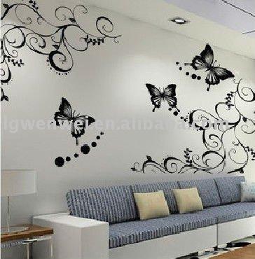 2013 pegatinas de pared decoraci n para el hogar otros - Utensilios para pintar paredes ...