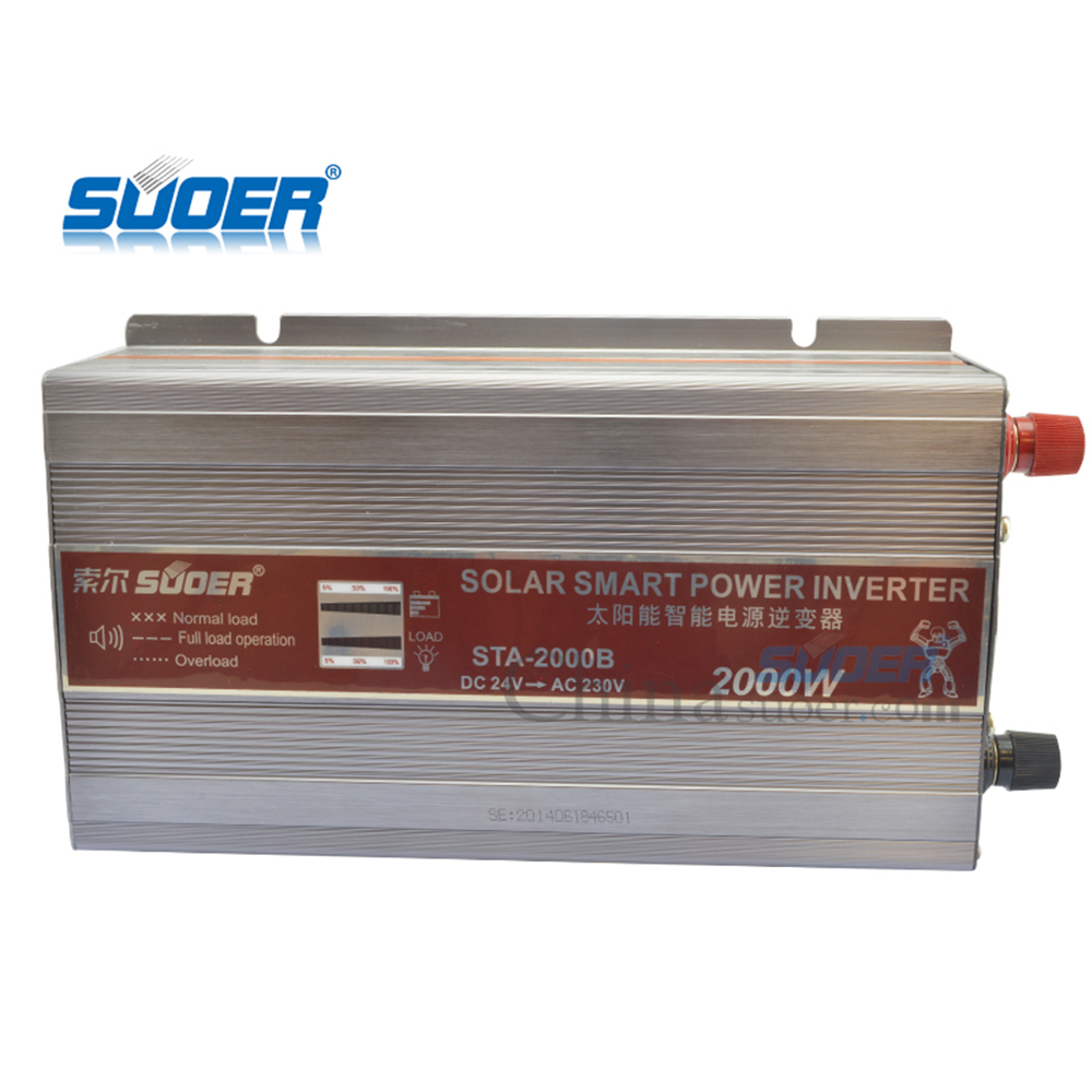 Suoer 1500W 24V off grid home inverter power solar panel electricity generation solar energy system battery for solar system