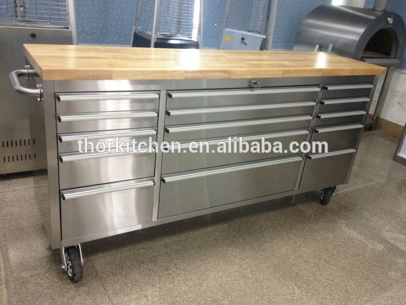 Stainless Steel Workshop Tool Roll Cab Roller Cabinet - Buy Tool ...