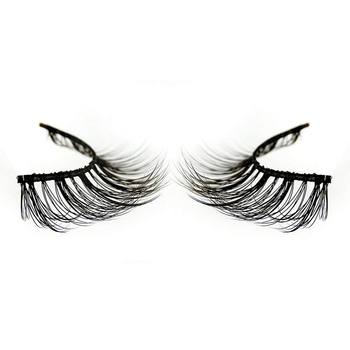 Wholesale Vendor Distributors Custom Logo Wispie Self Adhesive Mink 3D False Eyelashes With Case