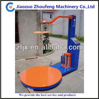 shrink wrap machine pallet