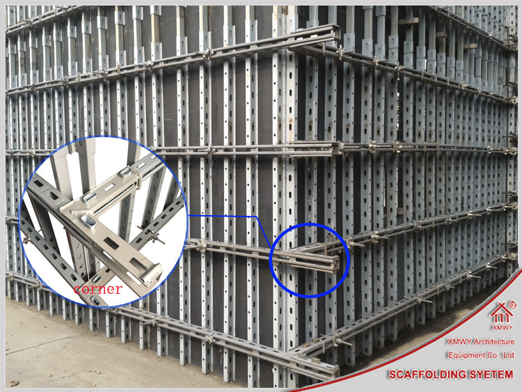 Used Scaffolding For Sale >> New Developed Reusable Concrete Wall Formwork System ...