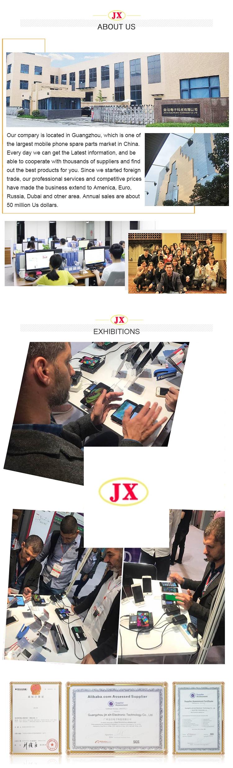 Painel LCD brandnew original do telefone móvel para o conjunto positivo da exposição do iphone 6