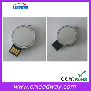 Private mould cheapest round metal usb engrave logo or print logo 1gb 2gb 4gb 8gb