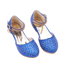 Girl  Princess  Korean Version  Crystal Child Dress Shoe