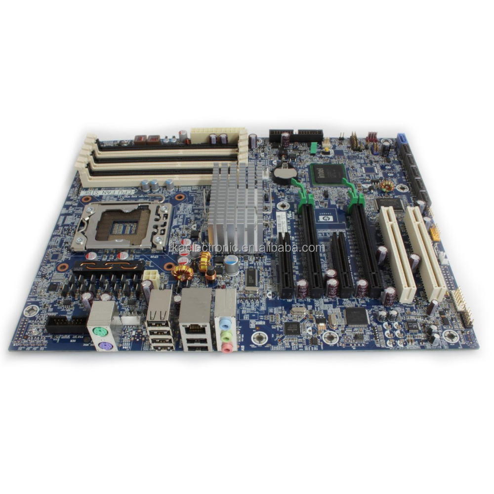 Favorable Price For HP Z400 X58 Workstation Motherboard 586968-001 System Board 1333MHz LGA 1366 DDR3
