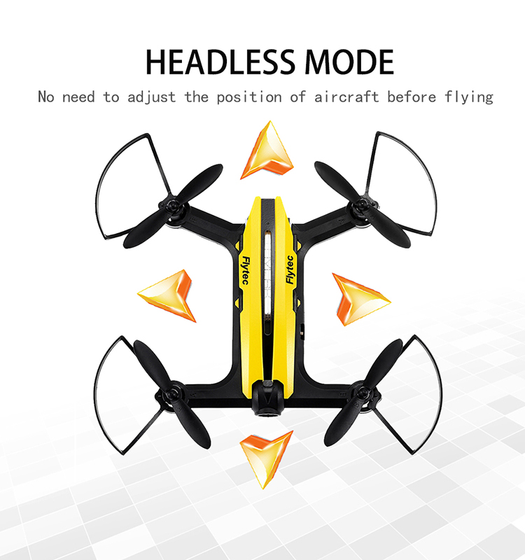 9.  T18D_Yellow_Racing_Drone_with_Altitude_Hold_WIFI_FPV_RC_Drone