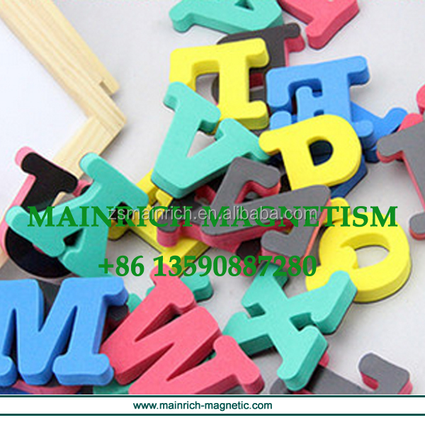 Colorful soft rubber printed magnet