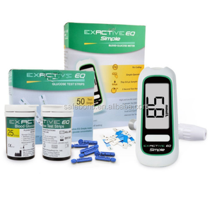 Blood Glucose Meter With Test Strips and Lancet Kit For Quick Checking Blood Sugar