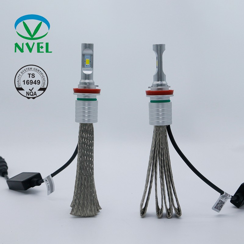 factory price good quality  Aluminum(die-casting) Cooling V6 LED headlight with copper error free led on sales