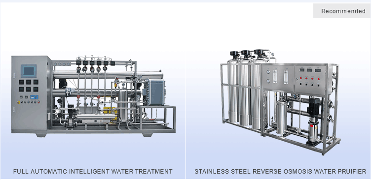LM-RO-A Semi automatic SS One stage reverse osmosis water treatment