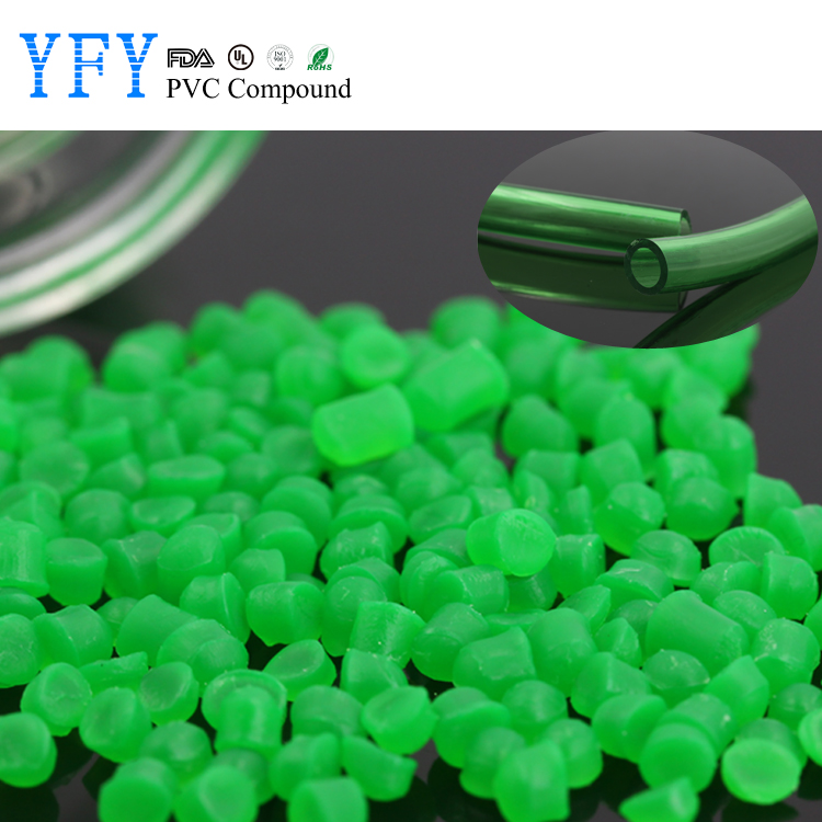 iso certificated soft pvc granules / pvc compound plastic raw material