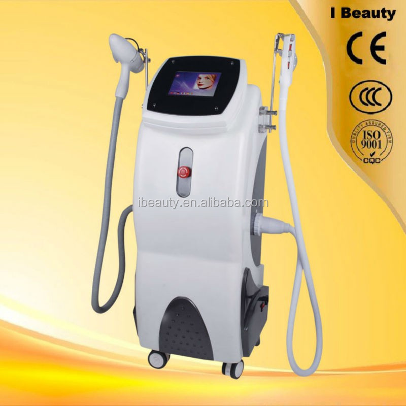 Q switched Nd Yag laser eyebrow purifying machine with 1064 532 black doll heads
