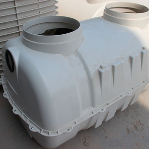 1.5m3 Factory Supply Fiberglass Portable Toilet Septic Tank Malaysia