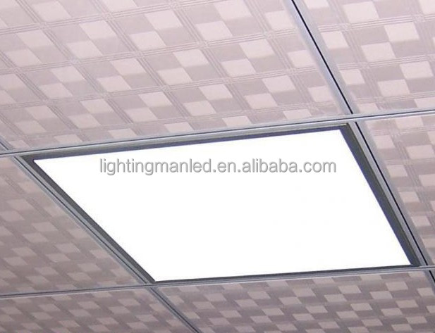 AC 85-265V 80-90LM/W 36W 40W 48W ultra-thin recessed battery operated led light panel 2x2
