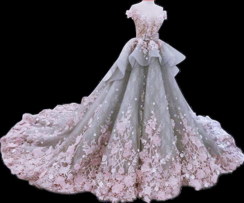 Fancy Noble Luxurious Heavy Beading Wedding Dress Ball Gown Wedding ...
