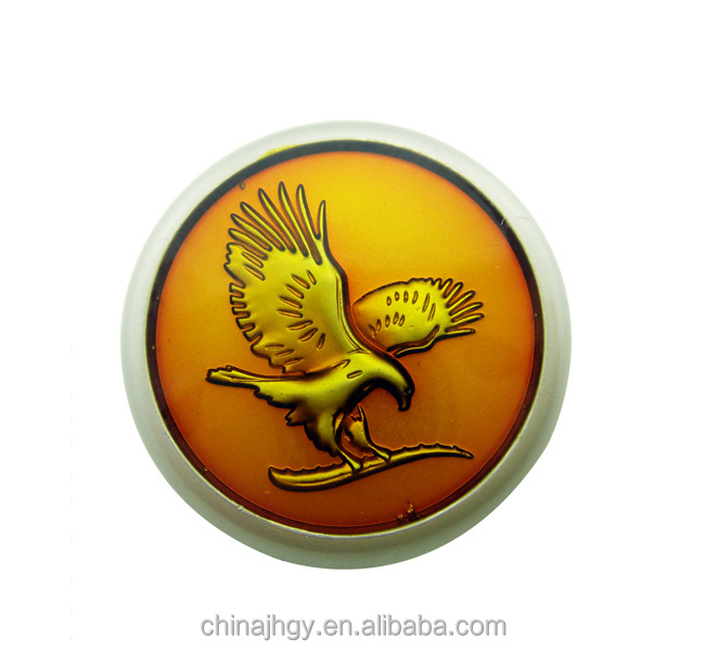 Custom peace dove lapel pin