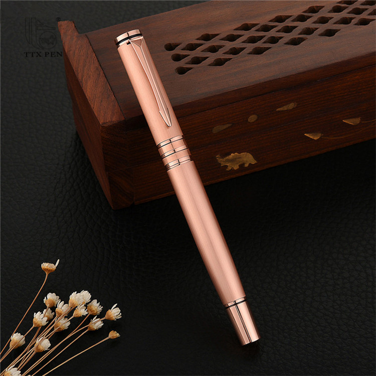 2020 Promotion Metal Ballpen & Roller Pen Gel Pen sets with Logo for Souvenir Gift